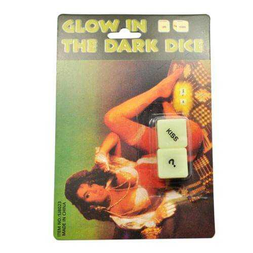 Glow in the Dark Foreplay Dice- Couples PLEASURE ATTIC - The UK's Cheapest Sex Toy Website.