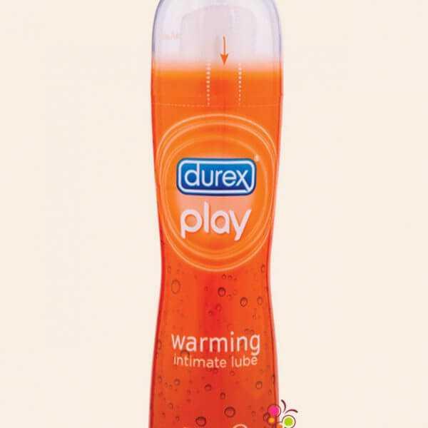 Durex play warming lube.