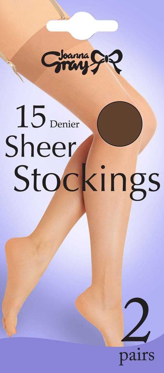 Joanne Gray 15 Denier stockings