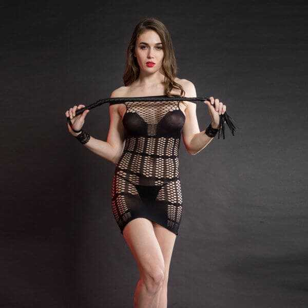 The Grace body stocking Black