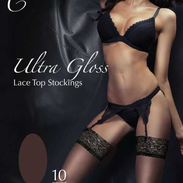 Ultra lace top stockings packaging
