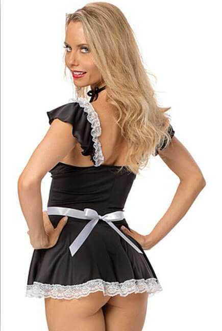 Naughty Dress Maid Costume