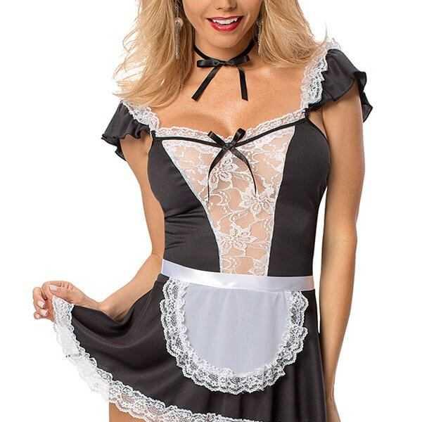 Naughty dress maid costume main picture