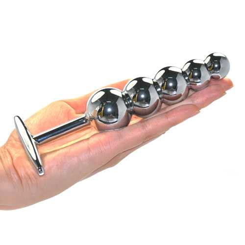 heavy metal anal beads