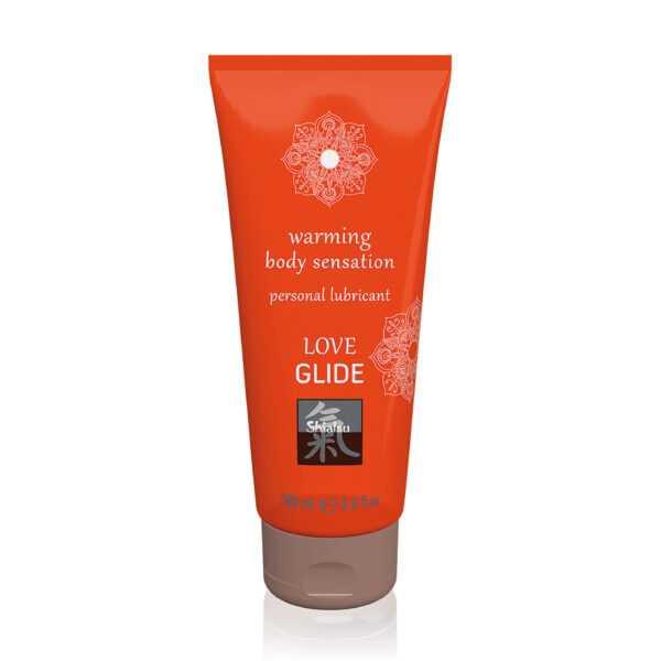Warming body sensation lubricant